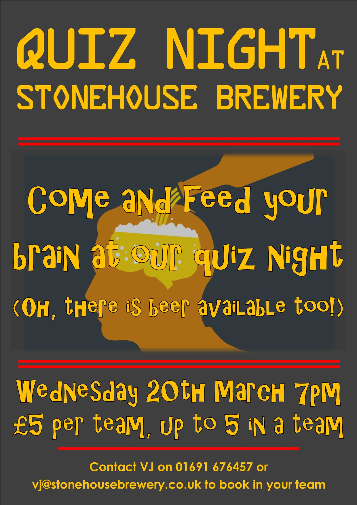 Quiz Night March