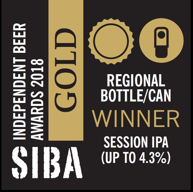 Gold Bottle Award IPA 2018