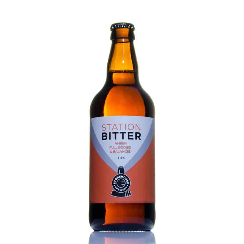 Station Bitter Amber Full Bodied & Balanced 3.9% vol SBC12