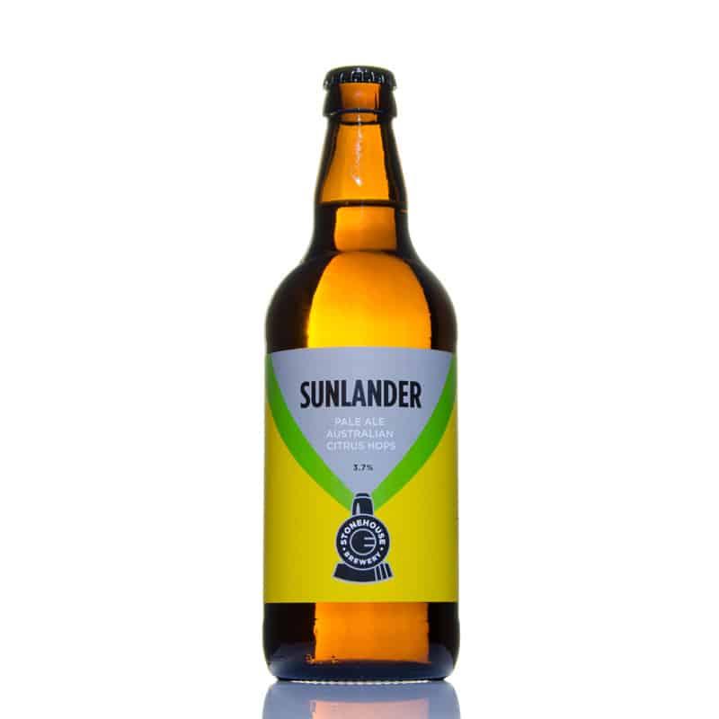 Sunlander Pale Ale Australian Citrus Hops 3.7% vol SLC12