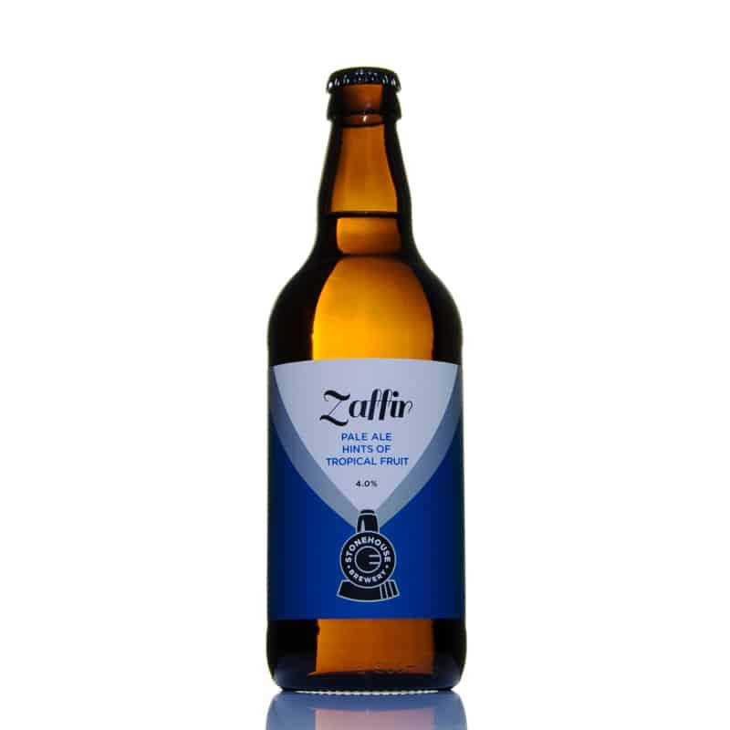 Zaffir Pale Ale Hints Of Tropical Fruit 4.0% vol ZPC12